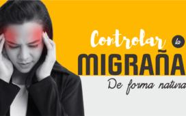 controlar la migraña de forma natural
