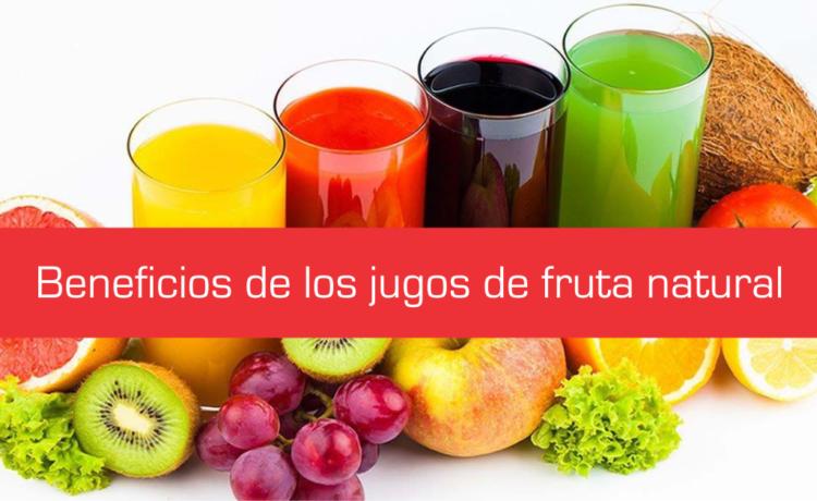 10 beneficios que aportan los jugos de frutas naturales