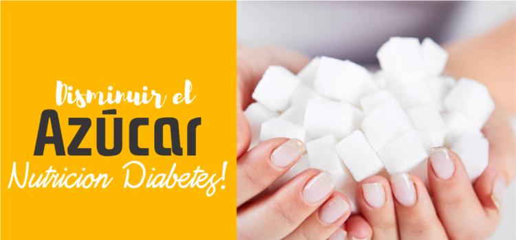 disminuir el azúcar en la sangre en pacientes diabéticos